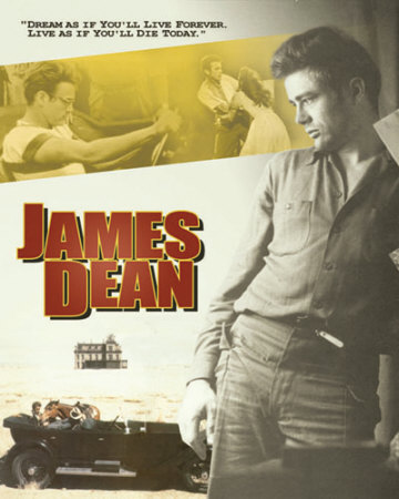 James Dean Dream Plaque en métal