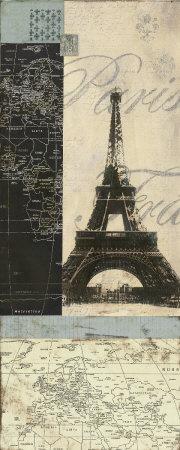 Paris Art by Carol Robinson