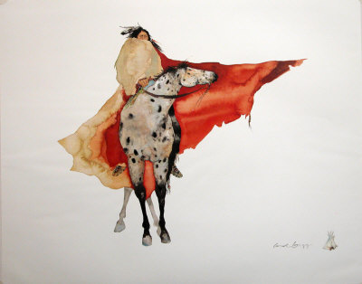 Warrior Walk Art by Carol Grigg