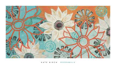 Moonwalk Prints by Kate Birch