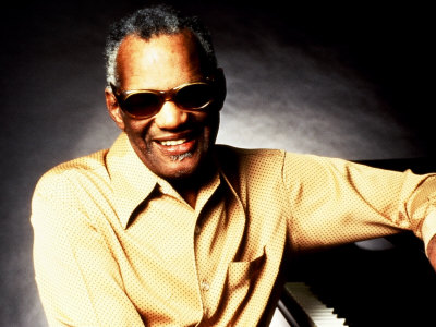 Ray Charles Portrait Photo