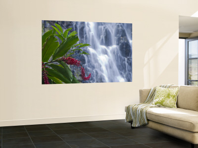 Kepirohi Waterfall, Pohnpei, Federated States of Micronesia Wall Mural