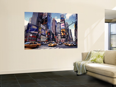 Times Square, New York City, USA Wall Mural