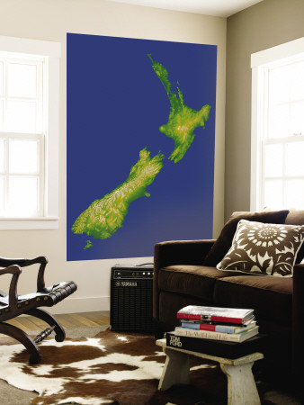 New Zealand Wall Mural