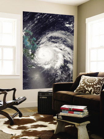 Hurricane Ike over Cuba, Hispaniola, and the Bahamas Wall Mural