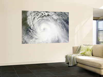 Hurricane Ike, from International Space Station Wall Mural