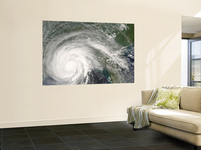 Hurricane Gustav Wall Mural