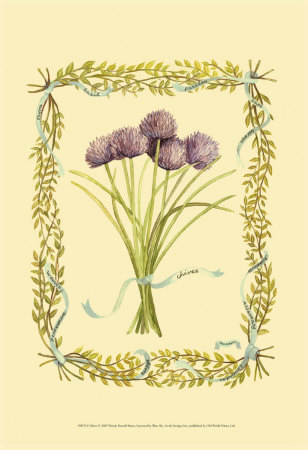 Chives Prints by Wendy Russell