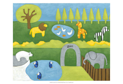 Storybook Zoo Prints by Chariklia Zarris