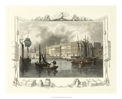 Seaside Vignette I Giclee Print by William Tombleson