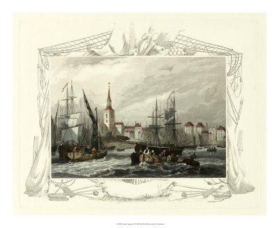 Seaside Vignette II Giclee Print by William Tombleson