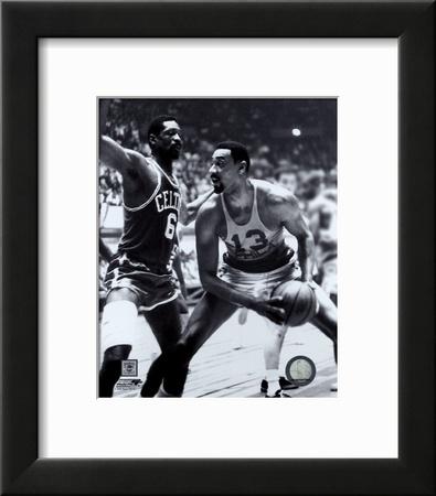 Bill Russell and  Wilt Chamberlain Poster