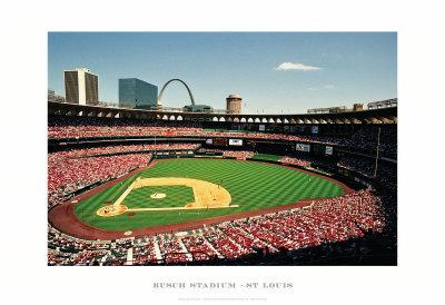 Busch Stadium, St Louis Posters by Ira Rosen