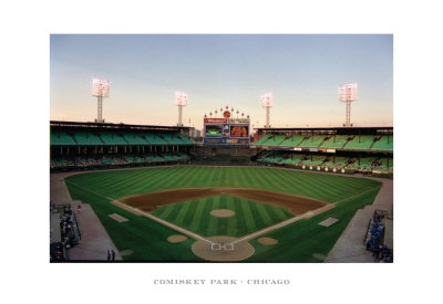 Comiskey Park, Chicago Reproduction d'art