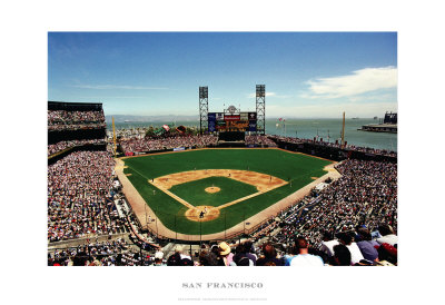 AT&T Park, San Francisco Posters by Ira Rosen