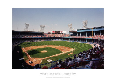 Tiger Stadium, Detroit Prints by Ira Rosen