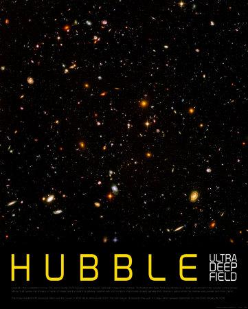 Hubble Ultra Deep Field Art