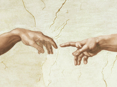 The creation of adam art by michelangelo buonarroti at allposters