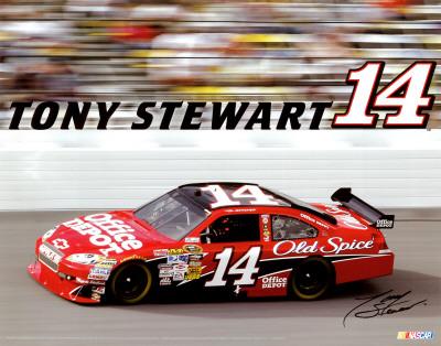 Tony Stewart #14 Poster