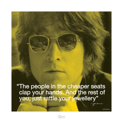 John Lennon: Clap Your Hands Poster Print