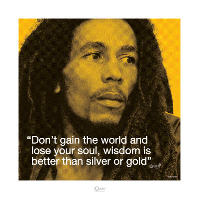 Bob Marley: Wisdom Reproduction d'art