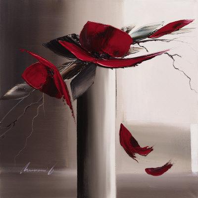 En Rouge et Gris II Affischer av Olivier Tramoni