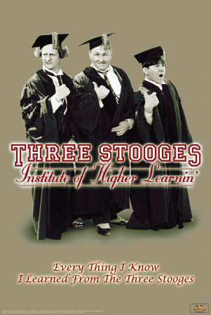 Three Stooges - Higher Learnin Prints
