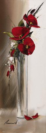 Hauteurs Florales II Poster av Olivier Tramoni