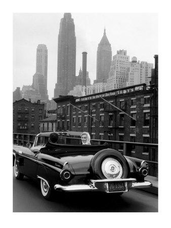 Marilyn in New York City Print by Sam Shaw