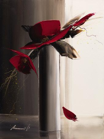 Bouquet Rouge II Affischer av Olivier Tramoni