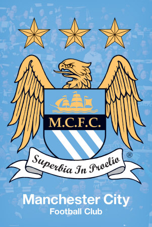 Manchester City Football Club Poster