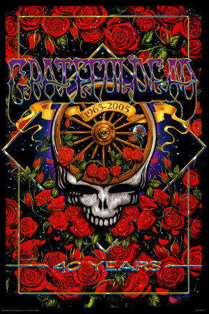 Grateful Dead 40th Anniversary Posters