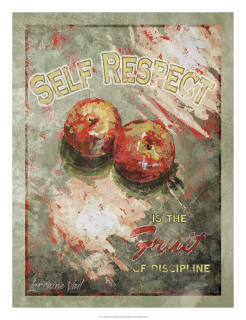 Self Respect Kunstdruck