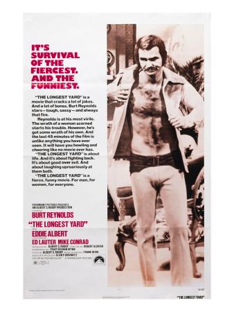 The Longest Yard, Burt Reynolds, 1974 Photo