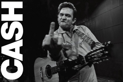 Johnny Cash- Folsom Prison Affiche