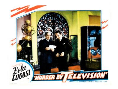 Murder by Television, Bela Lugosi 1935 Photo