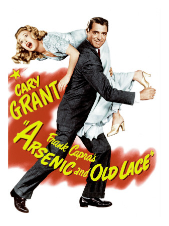 Arsenic and Old Lace, Priscilla Lane, Cary Grant, 1944 Photo