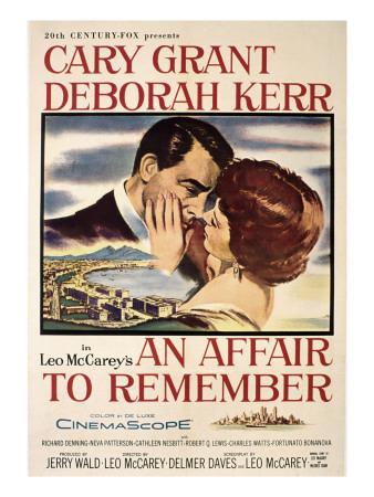 Affair to Remember, Cary Grant, Deborah Kerr, 1957 Photo