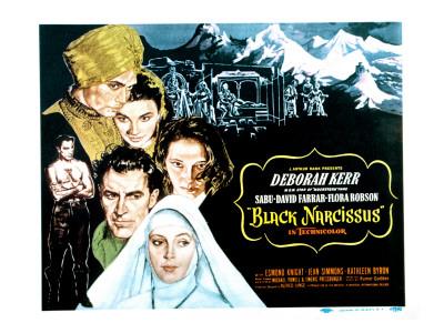Black Narcissus, David Farrar, Sabu, Jean Simmons, Deborah Kerr, Kathleen Byron, 1947 Photo