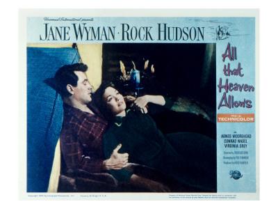 All That Heaven Allows, Rock Hudson, Jane Wyman, 1955 Photo