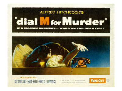 Dial M for Murder, Anthony Dawson, Grace Kelly, 1954 Photo