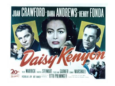 Daisy Kenyon, Dana Andrews, Joan Crawford, Henry Fonda, 1947 Photo