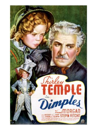Dimples, Shirley Temple, Frank Morgan, 1936 Foto