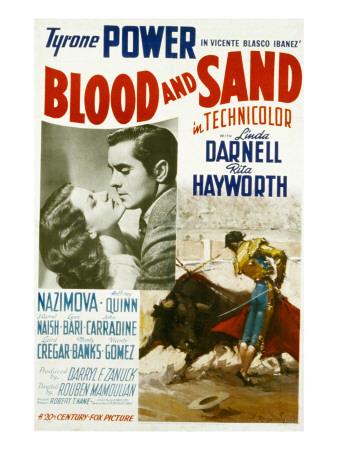 Blood and Sand, Rita Hayworth, Tyrone Power, 1941 Photo