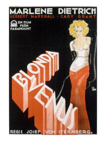 Blonde Venus, Marlene Dietrich, 1932 Photo