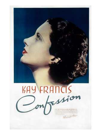 Confession, Kay Francis, 1937 Photo