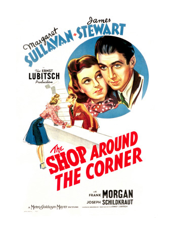 Shop around the Corner, Margaret Sullavan, James Stewart, 1940 Photo