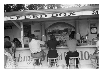 The Feed Box, Scene at Buckeye Lake Amusement Park Photo by Ben Shahn
