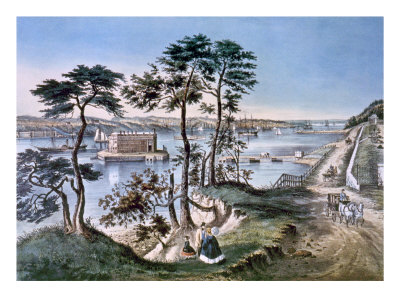 Staten Island and the Narrows Photo by  Currier & Ives