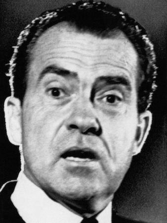 Former Vice President and Future US President Richard Nixon, 1960's Photo